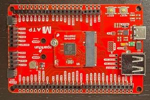 MicroMod RP2040とATPキャリアボードの組み合わせ